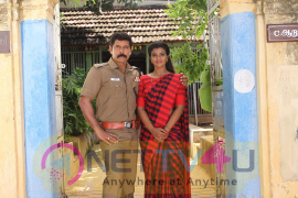 Aishwarya Rajesh Joins With The Team Sami Square Cute Images