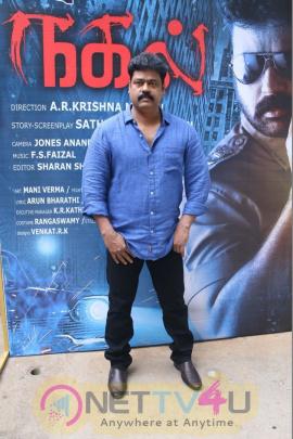Nagal Tamil Movie Pooja Celebration Stills  Tamil Gallery