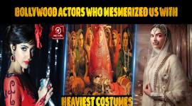 Bollywood Actors Who Mesmerized Us With Heaviest Costumes