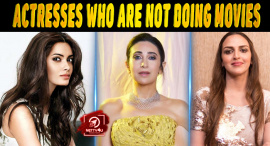 Top 10 Bollywood Actresses Who Are Not Doing Movies
