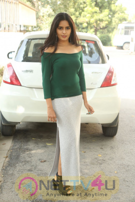 Actress Madhumitha Krishna  At E EE Movie Trailer Launch Pics