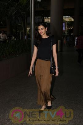 Gauhar Khan & Diana Penty Spotted At Airport Stills Hindi Gallery