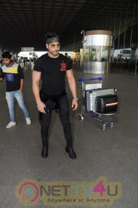 Gautam Gulati Spotted At Airport Stills Hindi Gallery