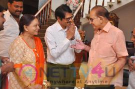 Super Star Krishna Launched Krishna Mahesh S Ananda Bhavanam Images Telugu Gallery