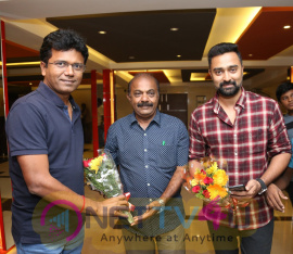 Thiruttuppayale 2 Success Celebration With Audience At Kasi Theater And Kamala Cinemas Pics