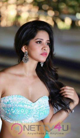 Actress Nabha Natesh Gorgeous Stills  Kannada Gallery