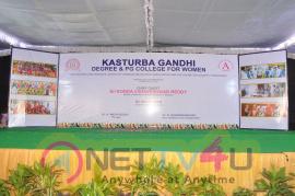 Manasuku Nachindi Movie Team At Kasturba Gandhi College  Telugu Gallery