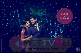 Kathir & Sanjana Wedding Pics Tamil Gallery