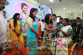 Varalaxmi Sarathkumar At Blood Donation Camp And International Womens Day Celebration Tamil Gallery