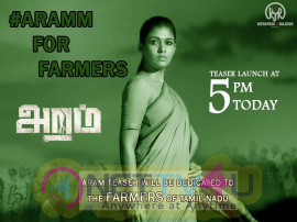 Aramm Teaser Launch Excellent Poster  Tamil Gallery