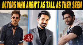 Top Ten Bollywood Actors Who Aren't As Tall As They Seem