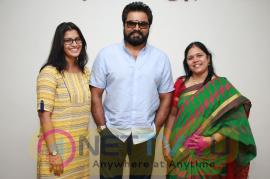 Actor Sarathkumar Appreciated Shakthi Movie Team Stills Tamil Gallery
