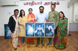 Actor Sarathkumar Appreciated Shakthi Movie Team Stills Tamil Gallery
