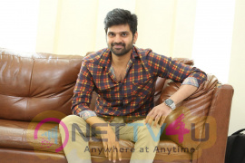 Mental Madilo Movie Hero Sree Vishnu Interview Pics Telugu Gallery
