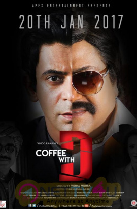 Coffee With D Movie Released Date Poster