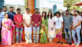 Sathya Jyothi Films Production No 34 Shooting Starts With A Pooja Pics