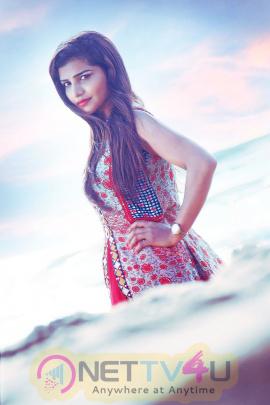 Actress Anju Kriti Gowda Good Looking Images  Tamil Gallery