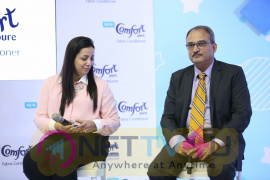 Actress Sneha Launches Comfort Pure Fabric Conditioner Baby Clothes Stills