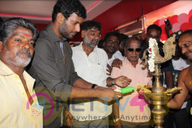 Vishal Inaugurate Thiruvotriyur MSM Lemuria Cinema Theater Photos Tamil Gallery