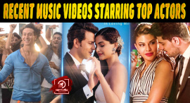 Top 10 Recent Music Videos Starring Bollywood Stars