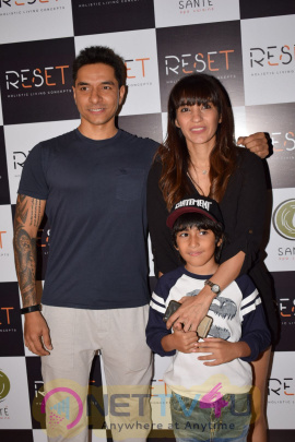 Launch Of Fitness Centre Reset With Lara Dutta & Diana Penty Photos