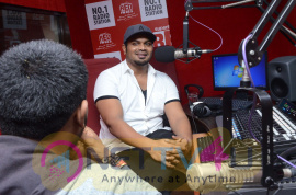 Manchu Manoj At Red FM For Okkadu Migiladu Movie Promotions Telugu Gallery