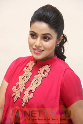 Actress Shamna Kasim Lovely Pics At Rakshasi Movie Motion Poster Launch  Telugu Gallery