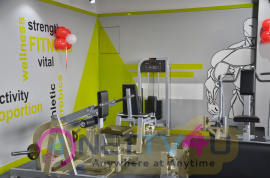 Actor Sarathkumar Inaugurated Flux Fitness Studio At OMR Images