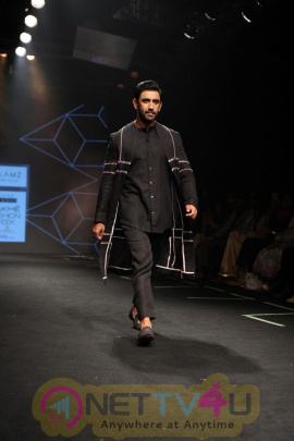 Amit Sadh Walks On Ramp For Raamz Label At LFW Summer 2017 Stills