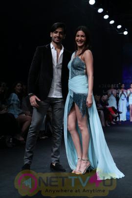 Amyra Dastur Walks Ramp For Designer Karn Malhotra At LFW Summer 2017 Stills Hindi Gallery