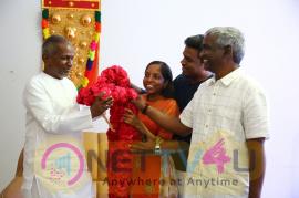 Yuvan Shankar Raja Meets Isaignani Ilaiyaraaja Images Tamil Gallery