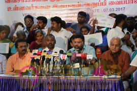 Actor Raghava Lawrence Press Meet Stills Tamil Gallery