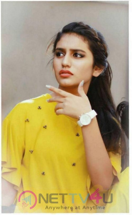 Malayalam Actor Priya Prakash Varrier Images