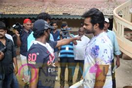 Sai Dharam Tej Karunakar Ks Ramarao Movie Shooting Spot Stills  Telugu Gallery