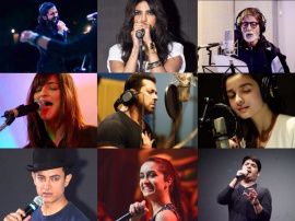 Top 10 Bollywood Celebrities Singing Their Hearts Out!