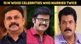 Top 10 Mollywood Celebrities Who Married Twice