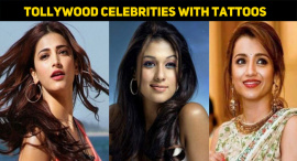 Top 10 Tollywood Celebrities Who Have Got Adorable Tattoos