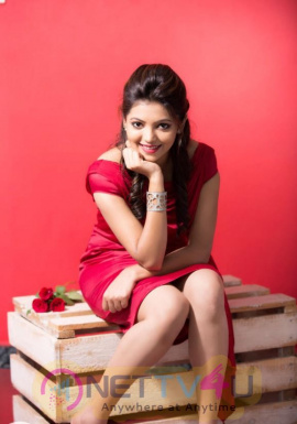 Actress Athulya Good Looking Stills