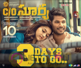 Care Of Surya 3 Days To Go Poster Telugu Gallery