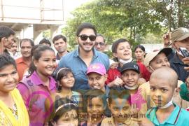 Actor Shreyas Talpade Hosts Special Screening Of Film Golmaal  At Tata Memorial Hospital