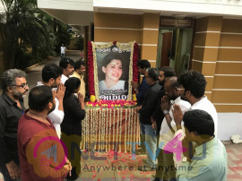NadigarSangam 's Deep Condolences On PuratchiThalaivi Amma Tamil Gallery