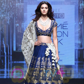 Loafer Actress Disha Patani At Lakme Fashion Week Summer 2017 Images Hindi Gallery