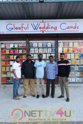 Ma Ka Pa Anand launches Wedding Street & Gleeful Cards  Stills