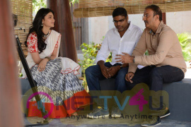 New Movie Katamarayudu Working Photos Telugu Gallery