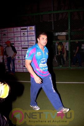 Sohail Khan & Bobby Deol At Match Of Tony Premiere League Photos