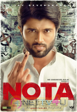 NOTA FIRST LOOK Telugu Gallery