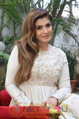 Raveena Tandon At The Media Interaction For Film Maatr Photo Hindi Gallery