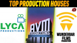 Top 10 Production Houses In The Tamil Industry