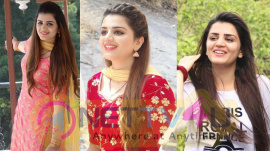 Actress Aishwarya Gowda Cute Images