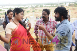 Kalathur Gramam Tamil Movie Shooting Spot Stills Tamil Gallery